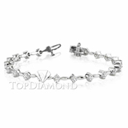 Diamond 18K White Gold Bracelet L1267. Diamond 18K White Gold Bracelet L1267, Diamond Bracelets. Bracelets. Top Diamonds & Jewelry