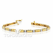 Diamond 18K Gold Bracelet L1275. Diamond 18K Gold Bracelet L1275, Diamond Bracelets. Bracelets. Top Diamonds & Jewelry