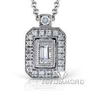 Simon G PP104 Diamond Pendant Setting-$100 GIFT CARD INCLUDED WITH PURCHASE. Simon G PP104 Diamond Pendant Setting-$100 GIFT CARD INCLUDED WITH PURCHASE, Pendants. Simon G. Top Diamonds & Jewelry
