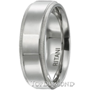 Ritani Men Wedding Band 60011S7-$300 GIFT CARD INCLUDED WITH PURCHASE. Ritani Men Wedding Band 60011S7-$300 GIFT CARD INCLUDED WITH PURCHASE, Wedding Bands. Ritani. Top Diamonds & Jewelry
