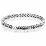 Diamond Tennis Bracelet in 18K  White Gold L1367. Diamond Tennis Bracelet in Platinum and 18K  White Gold L1367, Tennis Bracelets. Bracelets. Top Diamonds & Jewelry