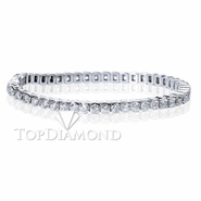 Diamond Tennis Bracelet in 18K White Gold L1371. Diamond Tennis Bracelet in Platinum and 18K White Gold L1371, Tennis Bracelets. Bracelets. Top Diamonds & Jewelry