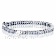 Diamond Tennis Bracelet in 18K White Gold L1374. Diamond Tennis Bracelet in Platinum and 18K White Gold L1374, Tennis Bracelets. Bracelets. Top Diamonds & Jewelry