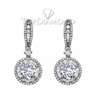 Diamond Dangling Earrings E2216. Diamond Dangling Earrings E2216, Dangle Earrings. Earrings. Top Diamonds & Jewelry