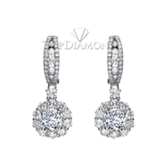 Diamond Dangling Earrings Setting E2256A. Diamond Dangling Earrings Setting E2256A, Dangle Earrings. Earrings. Top Diamonds & Jewelry