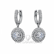 Diamond Dangling Earrings Setting E2257A. Diamond Dangling Earrings Setting E2257, Dangle Earrings. Earrings. Top Diamonds & Jewelry