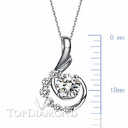 18K White Gold Diamond Pendant Setting P2569. 18K White Gold Diamond Pendant Setting P2569, Diamond Pendants. Necklaces & Pendants. Top Diamonds & Jewelry