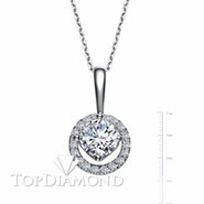 18K White Gold Diamond Pendant Setting P2573. 18K White Gold Diamond Pendant Setting P2573, Diamond Pendants. Necklaces & Pendants. Top Diamonds & Jewelry
