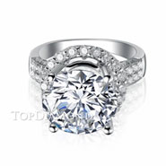 Diamond Engagement Ring Setting Style B2784.
