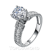 Diamond Engagement Ring Setting Style B2790. Diamond Engagement Ring Setting Style B2790, Diamond Accented. Engagement Ring Settings. Top Diamonds & Jewelry