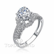 Diamond Engagement Ring Setting Style B2799. Diamond Engagement Ring Setting Style B2799, Diamond Accented. Engagement Ring Settings. Top Diamonds & Jewelry