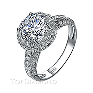 Diamond Engagement Ring Setting Style B2814. Diamond Engagement Ring Setting Style B2814, Diamond Accented. Engagement Ring Settings. Top Diamonds & Jewelry