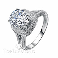 Diamond Engagement Ring Setting Style B2818. Diamond Engagement Ring Setting Style B2818, Diamond Accented. Engagement Ring Settings. Top Diamonds & Jewelry