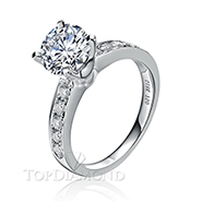 Diamond Engagement Ring Setting Style B2827. Diamond Engagement Ring Setting Style B2827, Diamond Accented. Engagement Ring Settings. Top Diamonds & Jewelry