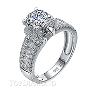 Diamond Engagement Ring Setting Style B2828. Diamond Engagement Ring Setting Style B2828, Diamond Accented. Engagement Ring Settings. Top Diamonds & Jewelry