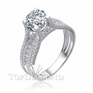 Diamond Engagement Ring Setting Style B2829. Diamond Engagement Ring Setting Style B2829, Diamond Accented. Engagement Ring Settings. Top Diamonds & Jewelry