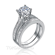 Diamond Engagement Set Mounting Style BD2751. Prong Diamond Engagement Ring Setting BD2751, Matching Sets. Engagement Ring Settings. Top Diamonds & Jewelry