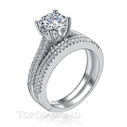 Diamond Engagement Set Mounting Style BD2753. Prong Diamond Engagement Ring Setting BD2753, Matching Sets. Engagement Ring Settings. Top Diamonds & Jewelry