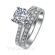Diamond Engagement Set Mounting Style BD2754. Prong Diamond Engagement Ring Setting BD2754, Matching Sets. Engagement Ring Settings. Top Diamonds & Jewelry