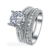 Diamond Engagement Set Mounting Style BD2808. Prong Diamond Engagement Ring Setting BD2808, Matching Sets. Engagement Ring Settings. Top Diamonds & Jewelry