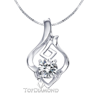 18K White Gold Diamond Pendant Setting P1621. 18K White Gold Diamond Pendant Setting P1621, Diamond Pendants. Necklaces & Pendants. Top Diamonds & Jewelry