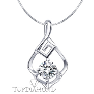 18K White Gold Diamond Pendant Setting P1625. 18K White Gold Diamond Pendant Setting P1625, Diamond Pendants. Necklaces & Pendants. Top Diamonds & Jewelry
