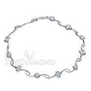 Diamond 18K White Gold Bracelet HPBL0136. Diamond 18K White Gold Bracelet HPBL0136, Diamond Bracelets. Bracelets. Top Diamonds & Jewelry