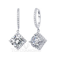 Diamond Dangling Earrings Setting E1034. Diamond Dangling Earrings Setting E1034, Dangle Earrings. Earrings. Top Diamonds & Jewelry