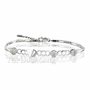 Diamond 18K White Gold Bracelet L1763. Diamond 18K White Bracelet L1763, Diamond Bracelets. Bracelets. Top Diamonds & Jewelry