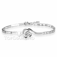 Diamond 18K White Gold Bracelet L1770. Diamond 18K White Gold Bracelet L1770, Diamond Bracelets. Bracelets. Top Diamonds & Jewelry