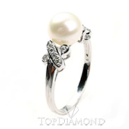 South Sea Pearl Ring B2419. South Sea Pearl Ring B2419EW50D, Pearl Rings. Pearl Jewelry. Hung Phat Diamonds & Jewelry