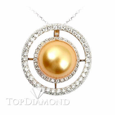 Pearl & Diamond Pendant P2422. Pearl & Diamond Pendant P2422, Pearl Pendants. Pearl Jewelry. Top Diamonds & Jewelry