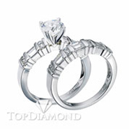 Diamond Engagement Set Mounting Style BD5013. Diamond Engagement Ring Setting & Wedding Band Set BD5013, Matching Sets. Engagement Ring Settings. Top Diamonds & Jewelry