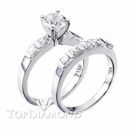 Diamond Engagement Set Mounting Style BD5023. Diamond Engagement Ring Setting & Wedding Band Set BD5023, Matching Sets. Engagement Ring Settings. Top Diamonds & Jewelry
