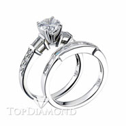 Diamond Engagement Set Mounting Style BD5030. Diamond Engagement Ring Setting & Wedding Band Set BD5030, Matching Sets. Engagement Ring Settings. Top Diamonds & Jewelry