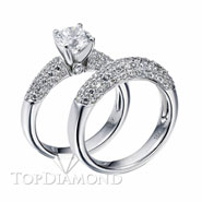 Diamond Engagement Set Mounting Style BD5041. Diamond Engagement Ring Setting & Wedding Band Set BD5041, Matching Sets. Engagement Ring Settings. Top Diamonds & Jewelry