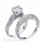Diamond Engagement Set Mounting Style BD5045. Diamond Engagement Ring Setting & Wedding Band Set BD5045, Matching Sets. Engagement Ring Settings. Top Diamonds & Jewelry