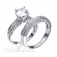 Diamond Engagement Set Mounting Style BD5085. Diamond Engagement Ring Setting & Wedding Band Set BD5085, Matching Sets. Engagement Ring Settings. Top Diamonds & Jewelry