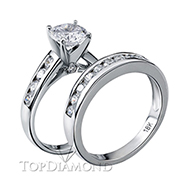 Diamond Engagement Set Mounting Style BD5103. Diamond Engagement Ring Setting & Wedding Band Set BD5103, Matching Sets. Engagement Ring Settings. Top Diamonds & Jewelry