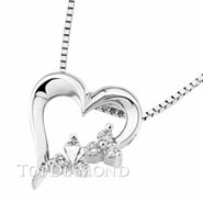 18K White Gold Diamond Pendant P2205. 18K White Gold Diamond Pendant P2205, Diamond Pendants. Necklaces & Pendants. Top Diamonds & Jewelry