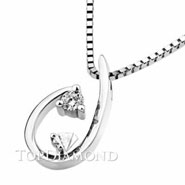 18K White Gold Diamond Pendant P2219. 18K White Gold Diamond Pendant P2219, Diamond Pendants. Necklaces & Pendants. Top Diamonds & Jewelry