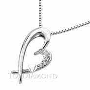 18K White Gold Diamond Pendant P2237. 18K White Gold Diamond Pendant P2237, Diamond Pendants. Necklaces & Pendants. Top Diamonds & Jewelry