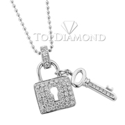 18K White Gold Fashion Pendant P2252. 18K White Gold Fashion Pendant P2252, Fashion Pendants. Necklaces & Pendants. Top Diamonds & Jewelry
