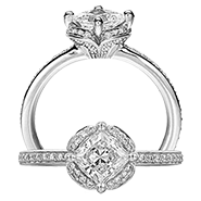 Ritani Bella Vita Engagement Ring Setting – 1PC2537CR-$500 GIFT CARD INCLUDED WITH PURCHASE. Ritani Engagement Ring Setting 1PC2537CR-$500 GIFT CARD INCLUDED WITH PURCHASE, Engagement Rings. Ritani. Hung Phat Diamonds & Jewelry
