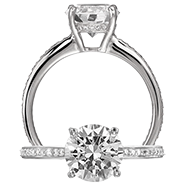Ritani Bella Vita Engagement Ring Setting – 1R1966CCR-$500 GIFT CARD INCLUDED WITH PURCHASE. Ritani Engagement Ring Setting 1R1966CCR-$500 GIFT CARD INCLUDED WITH PURCHASE, Engagement Rings. Ritani. Hung Phat Diamonds & Jewelry