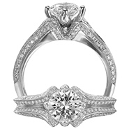 Ritani Bella Vita Engagement Ring Setting – 1R2531BR-$1000 GIFT CARD INCLUDED WITH PURCHASE. Ritani Engagement Ring Setting 1R2531BR-$1000 GIFT CARD INCLUDED WITH PURCHASE, Engagement Rings. Ritani. Hung Phat Diamonds & Jewelry
