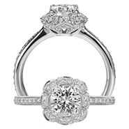 Ritani Bella Vita Engagement Ring Setting – 1R2532CR-$700 GIFT CARD INCLUDED WITH PURCHASE. Ritani Engagement Ring Setting 1R2532CR-$700 GIFT CARD INCLUDED WITH PURCHASE, Engagement Rings. Ritani. Hung Phat Diamonds & Jewelry