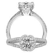 Ritani Bella Vita Engagement Ring Setting – 1R2534BR-$700 GIFT CARD INCLUDED WITH PURCHASE. Ritani Engagement Ring Setting 1R2534BR-$700 GIFT CARD INCLUDED WITH PURCHASE, Engagement Rings. Ritani. Hung Phat Diamonds & Jewelry