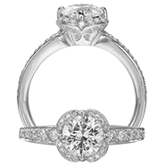 Ritani Bella Vita Engagement Ring Setting – 1R2535CR-$700 GIFT CARD INCLUDED WITH PURCHASE. Ritani Engagement Ring Setting 1R2535CR-$700 GIFT CARD INCLUDED WITH PURCHASE, Engagement Rings. Ritani. Hung Phat Diamonds & Jewelry