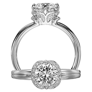 Ritani Bella Vita Engagement Ring Setting – 1R2536BR-$300 GIFT CARD INCLUDED WITH PURCHASE. Ritani Engagement Ring Setting 1R2536BR-$300 GIFT CARD INCLUDED WITH PURCHASE, Engagement Rings. Ritani. Hung Phat Diamonds & Jewelry